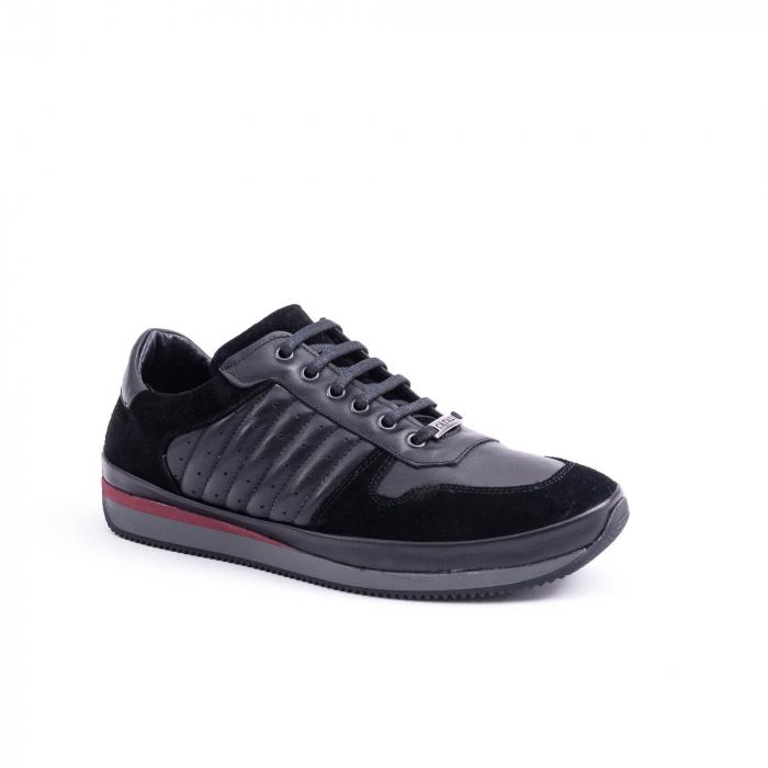 Pantof casual CataliShoes 191534 STAR negru 0