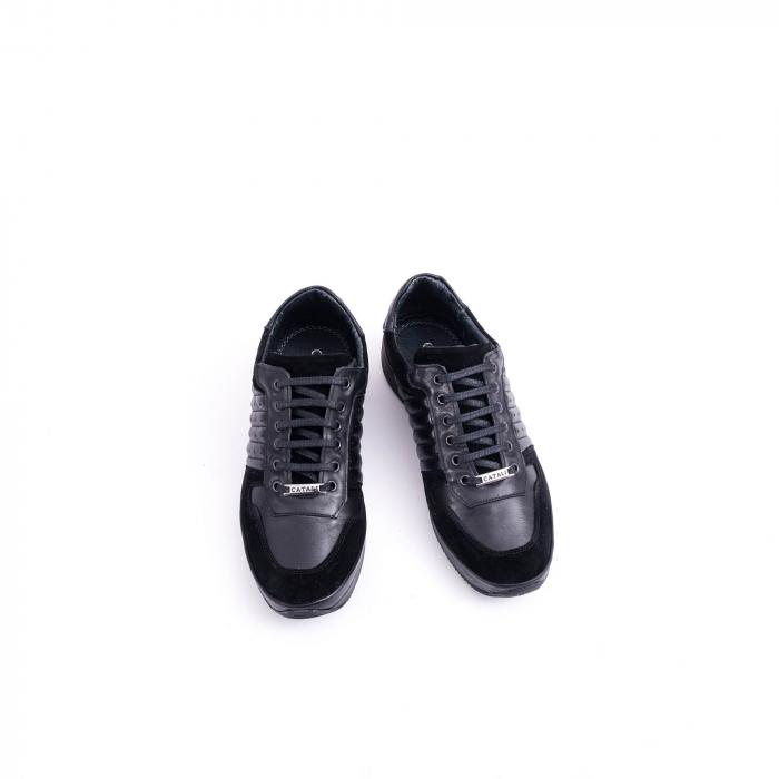 Pantof casual CataliShoes 191534 STAR negru 5