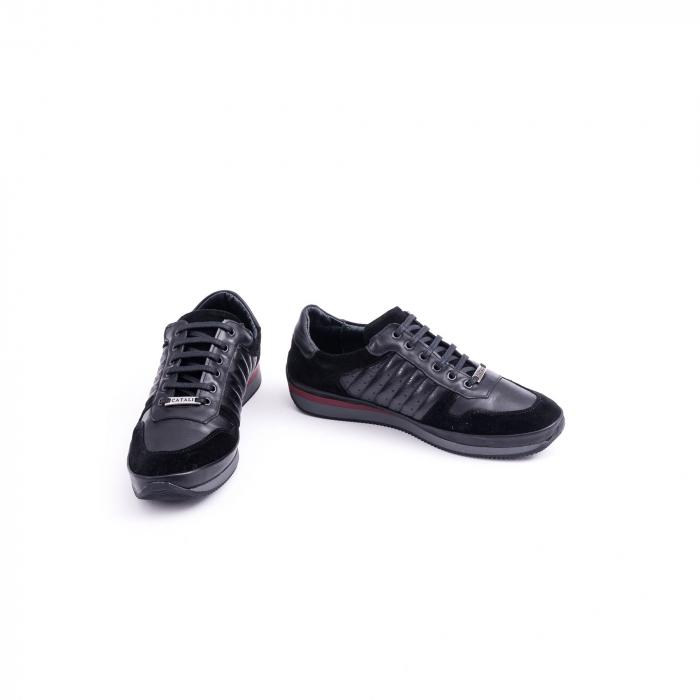 Pantof casual CataliShoes 191534 STAR negru 4