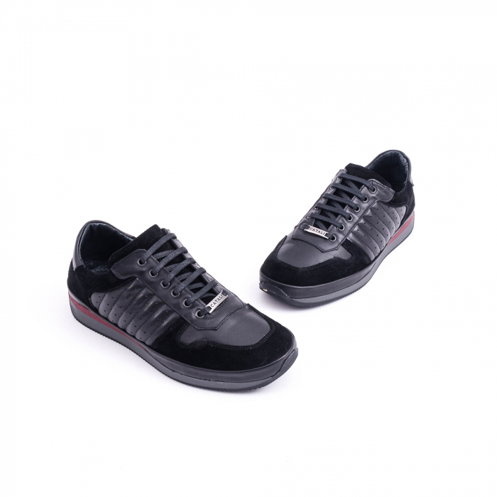 Pantof casual CataliShoes 191534 STAR negru 1