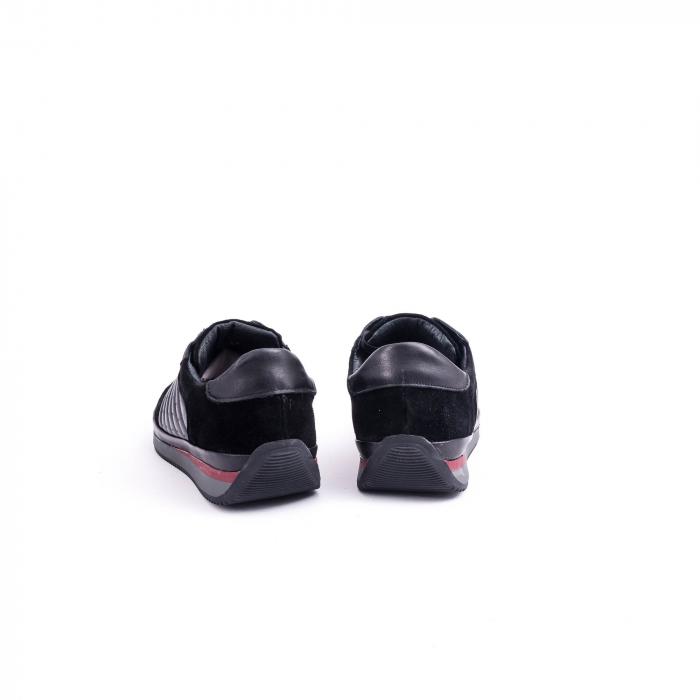 Pantof casual CataliShoes 191534 STAR negru 6