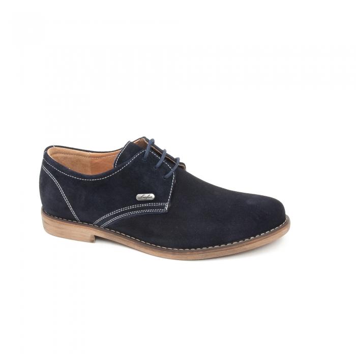 Pantof casual copii LFX 578 blue velur 0