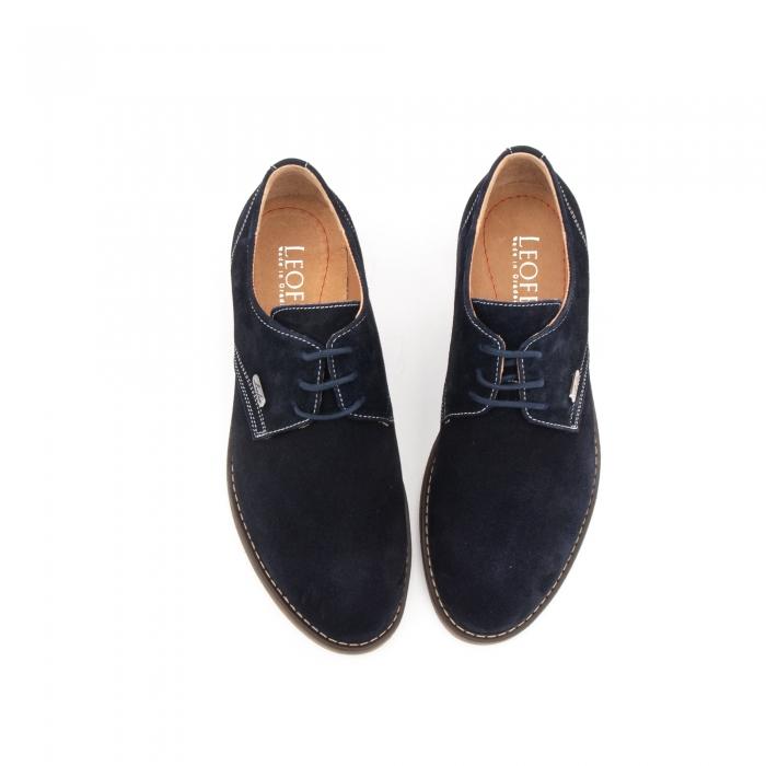 Pantof casual copii LFX 578 blue velur 4