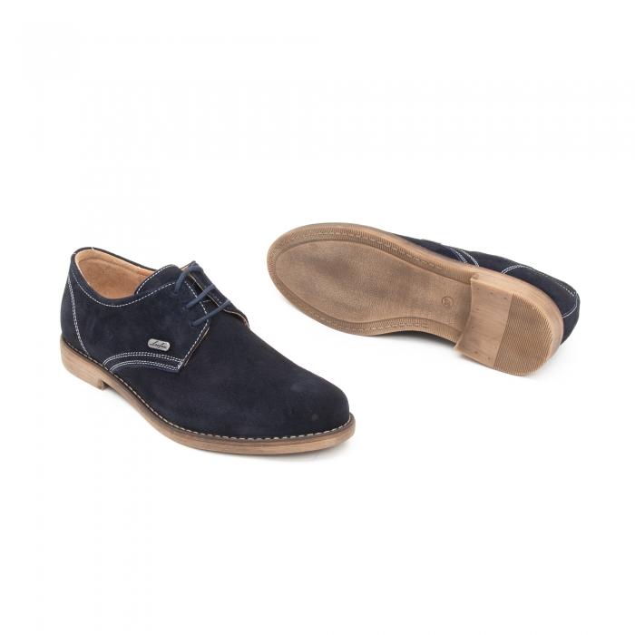 Pantof casual copii LFX 578 blue velur 2