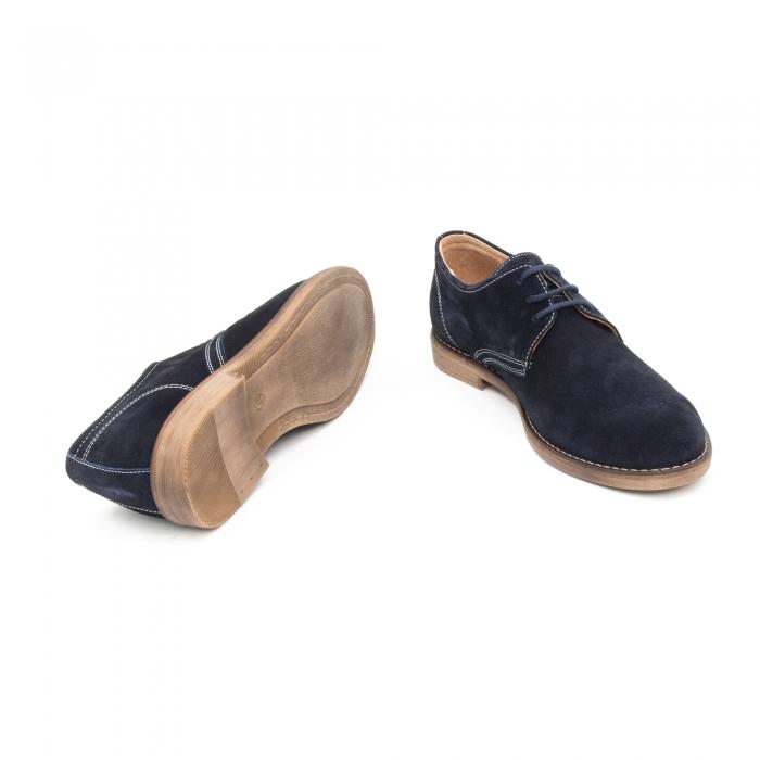 Pantof casual copii LFX 578 blue velur 3