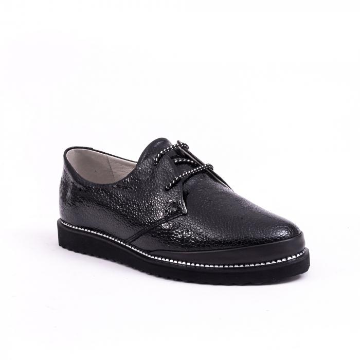 Pantof casual dama 191641 negru 0