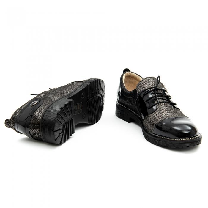 Pantof casual dama ,cod 1116 negru 5