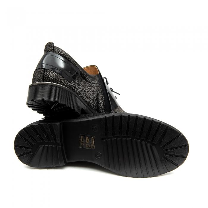Pantof casual dama ,cod 1116 negru 2