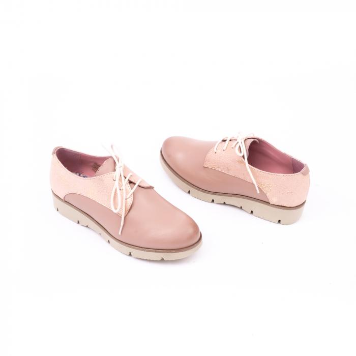 Pantof casual dama LFX 200 pudra 2