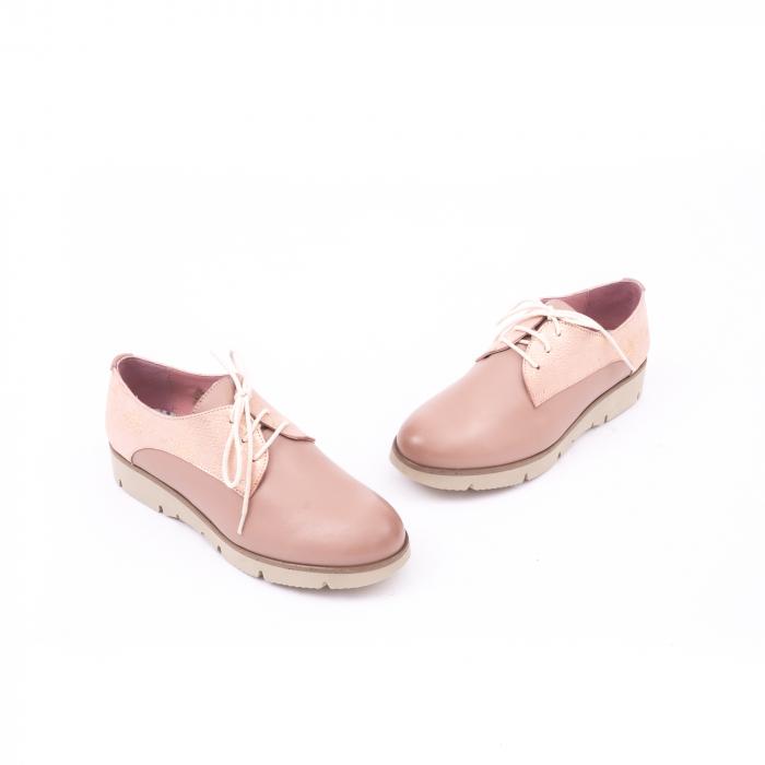 Pantof casual dama LFX 200 pudra 1