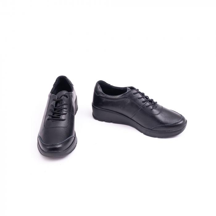 Pantof casual Angel Blue VK-F001-442 black leather