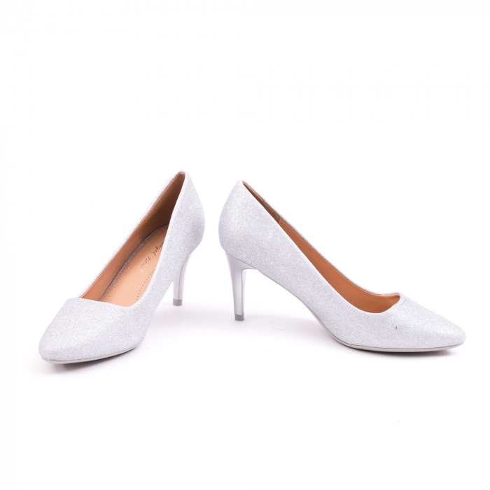 Pantof elegant 658 argintiu 4