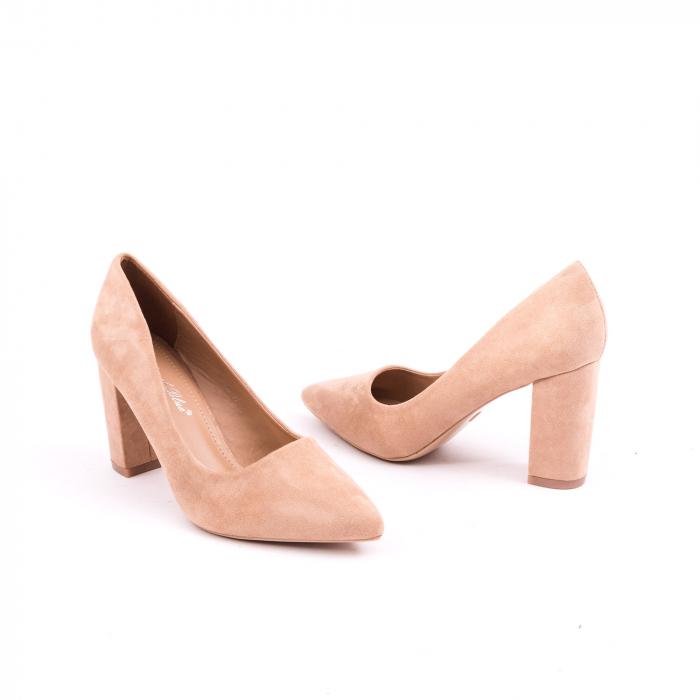 Pantof elegant 659 nude 2