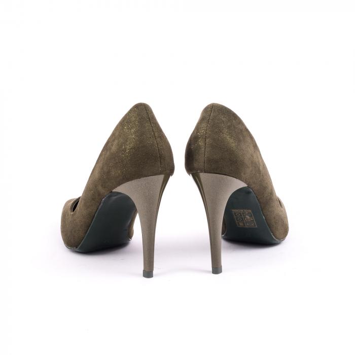 Pantof elegant 669 kaki 6