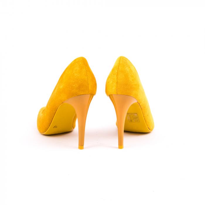 Pantof elegant 669 mustar 5