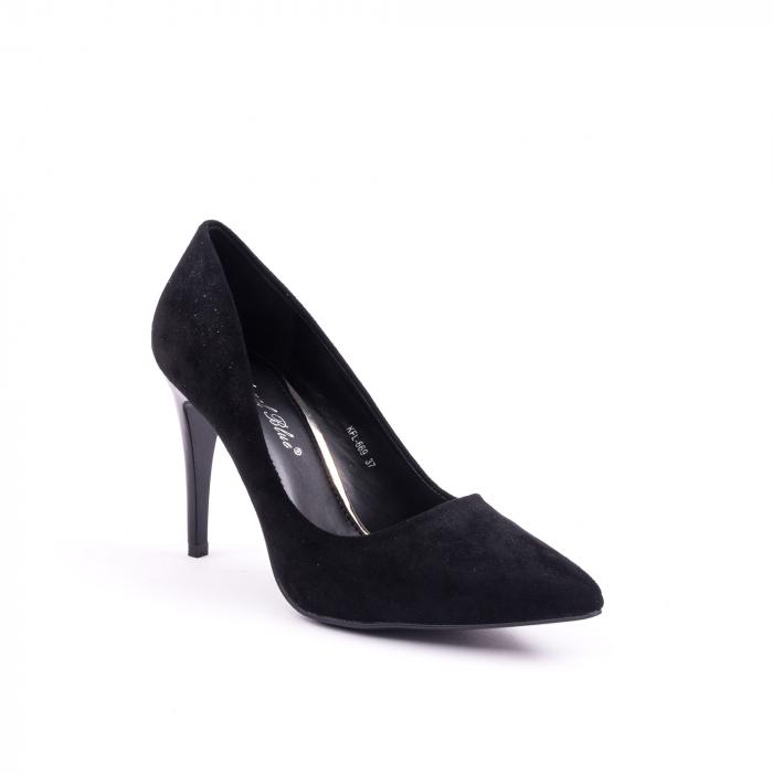 Pantof elegant 669 negru 0