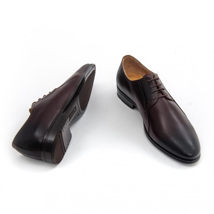 Pantof elegant barbat LFX 743 - ciocolata box