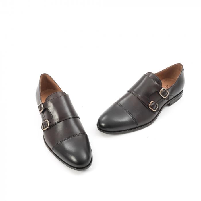 Pantof elegant  barbat LFX 933 mogano