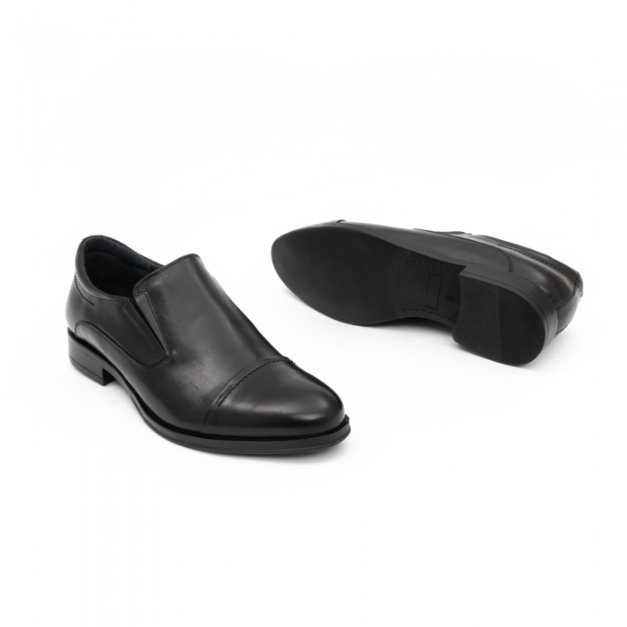 Pantof elegant barbat LFX 970 negru box 2