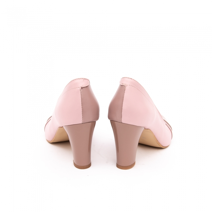 Pantof elegant dama -cod BBLB16 nude -crem