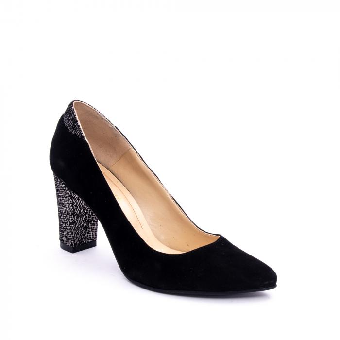 Pantof elegant dama marca Nike Invest 1197 negru velur 0
