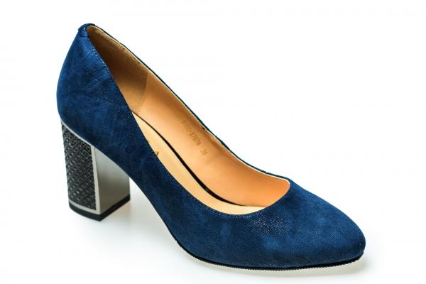 Pantof elegant EPICA HM1C1257 bleumarin 0