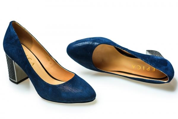 Pantof elegant EPICA HM1C1257 bleumarin 3