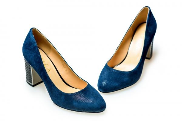 Pantof elegant EPICA HM1C1257 bleumarin 1