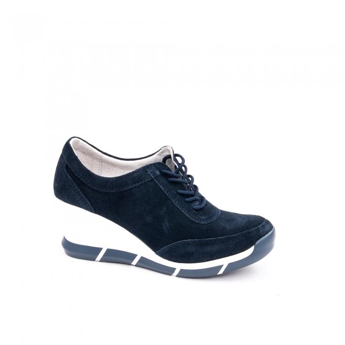 Pantof sport dama  cod VK-F001-441 navy suede 0