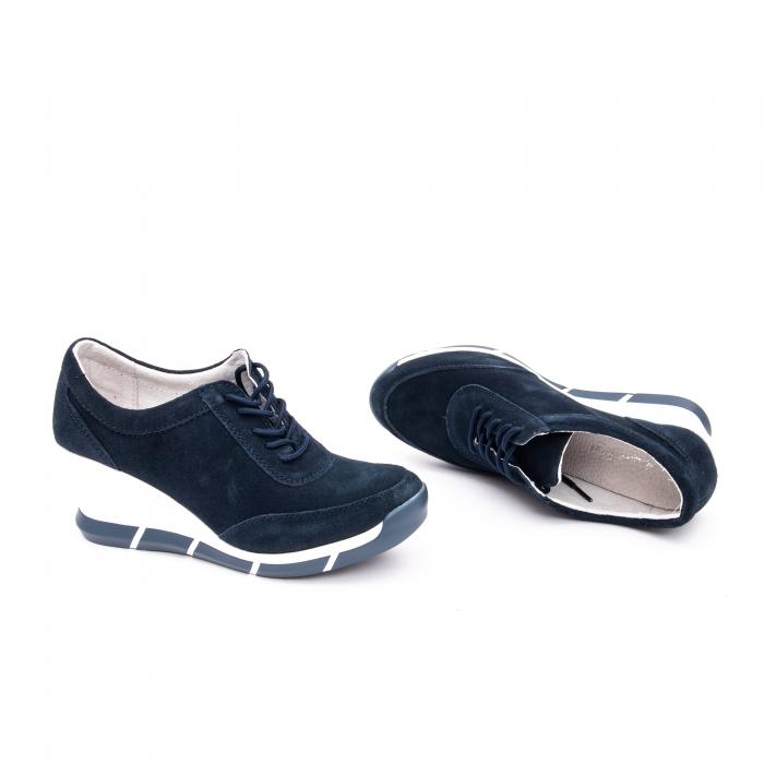Pantof sport dama  cod VK-F001-441 navy suede 1