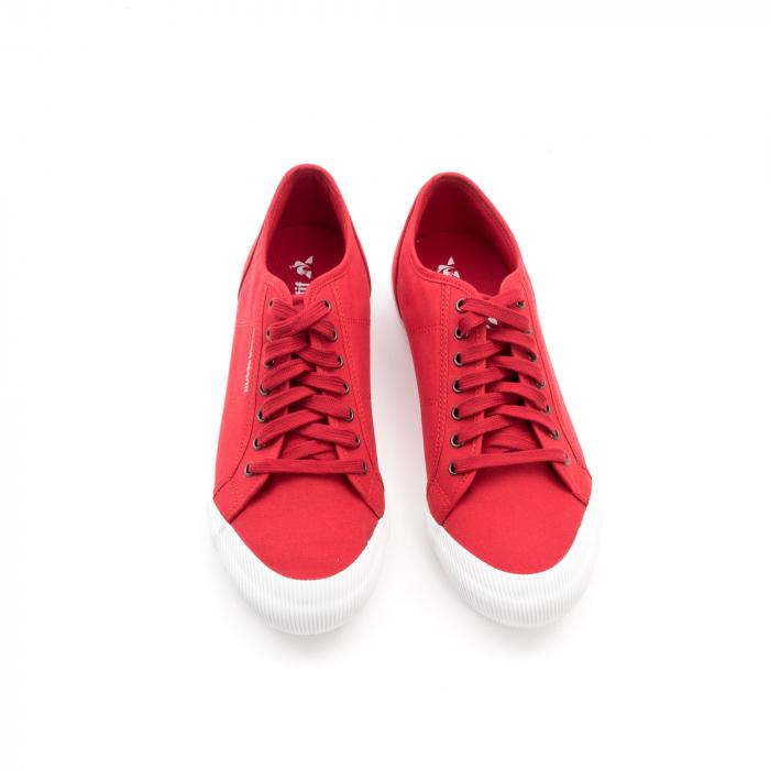 Pantofi sport unisex Le Coq Sportif 1820070 deauville sport, rosu 4