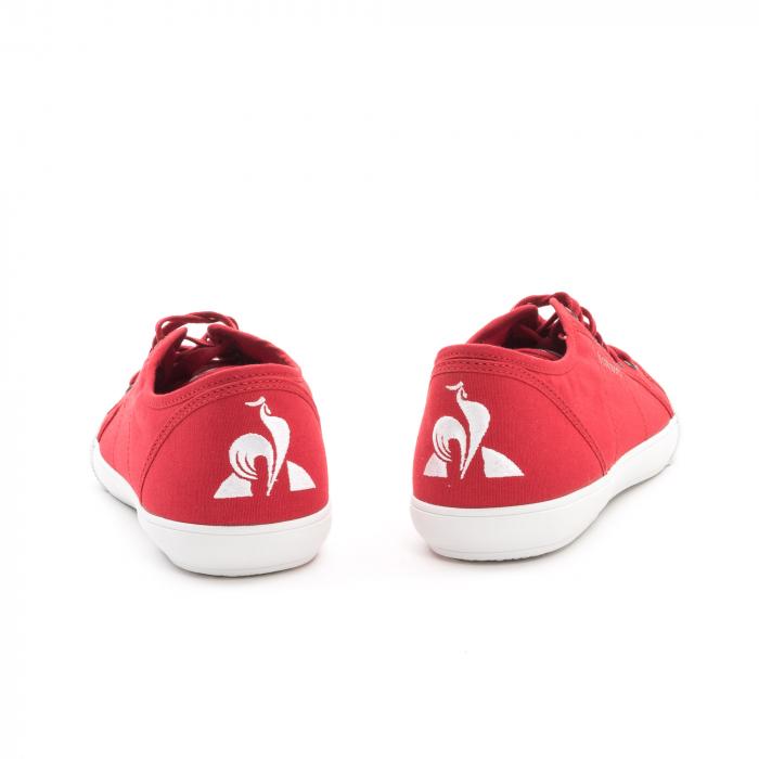 Pantofi sport unisex Le Coq Sportif 1820070 deauville sport, rosu 5