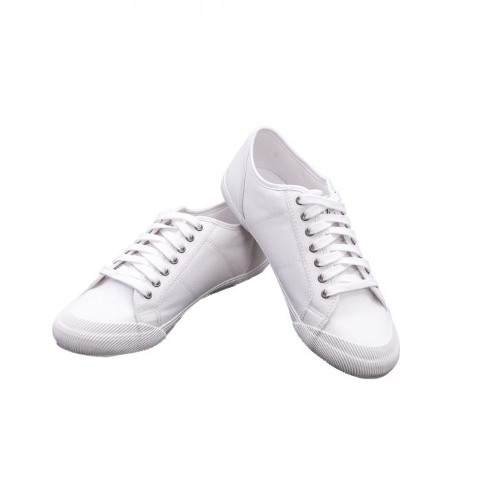 Pantofi sport vara  unisex Le Coq Sportif 1820069 deauville sport, alb 2