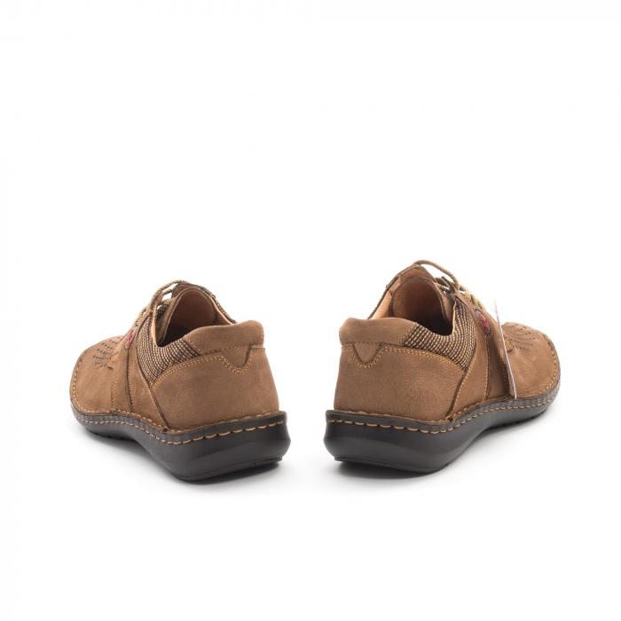 Pantofi barbati de vara piele naturala Otter 9560 04-2, coniac 6