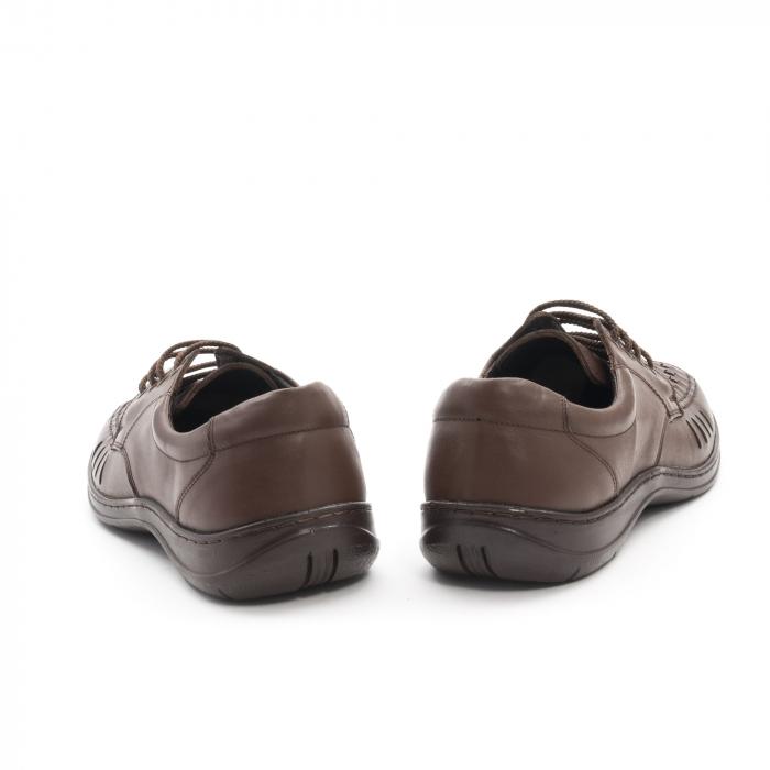 Pantofi barbati vara, piele naturala, Otter 149 C4-N, maro 6