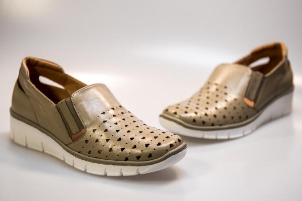 Pantof vara dama LFX 107 bej 2