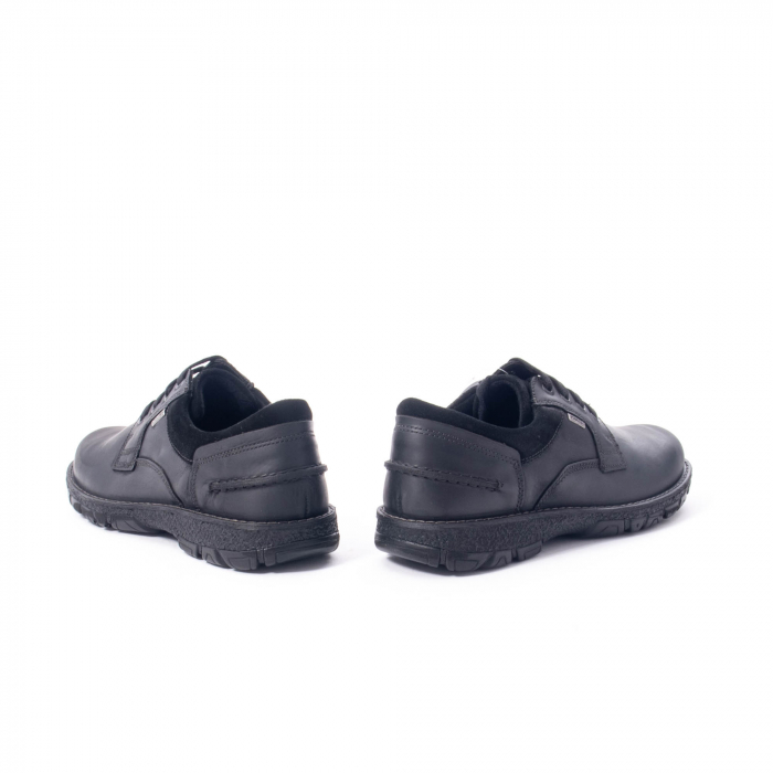 Pantofi barbati casual piele naturala Imac ic402428, negru 6