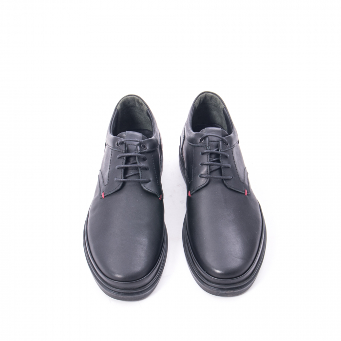Pantofi casual barbat din piele naturala Otter 5318 negru 5