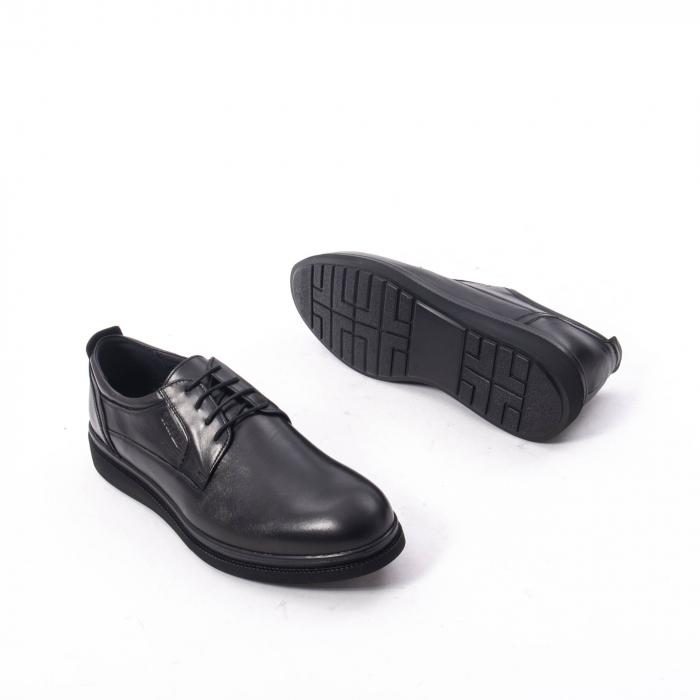 Pantofi casual barbat,piele naturala Catali 172568,negru 3