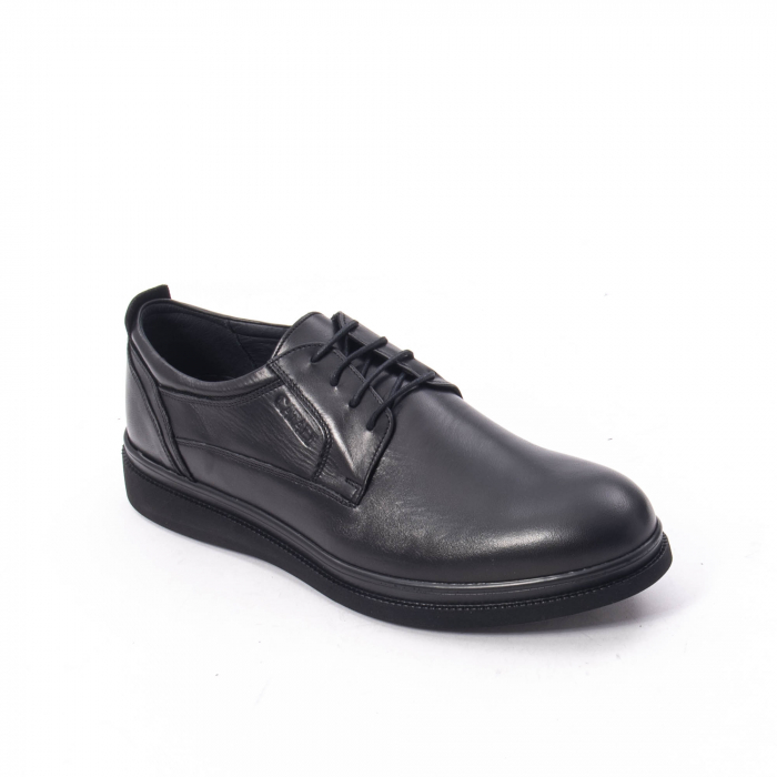 Pantofi casual barbat,piele naturala Catali 172568,negru 0