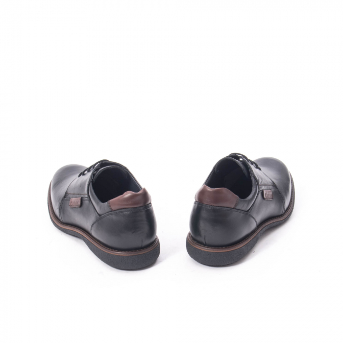 Pantofi casual barbat piele naturala, Catali 182505 negru 6