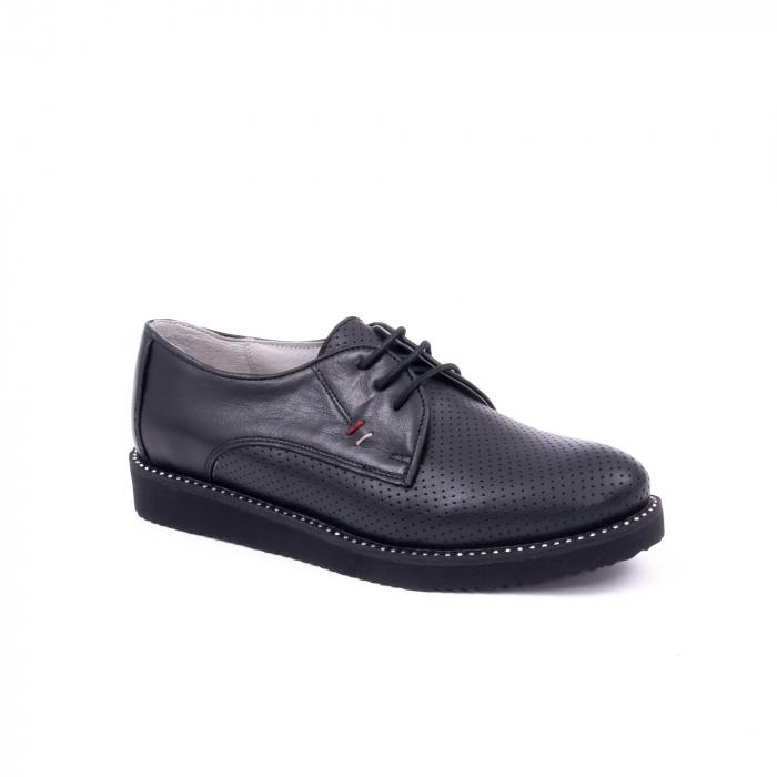 Pantofi casual dama 171610 negru