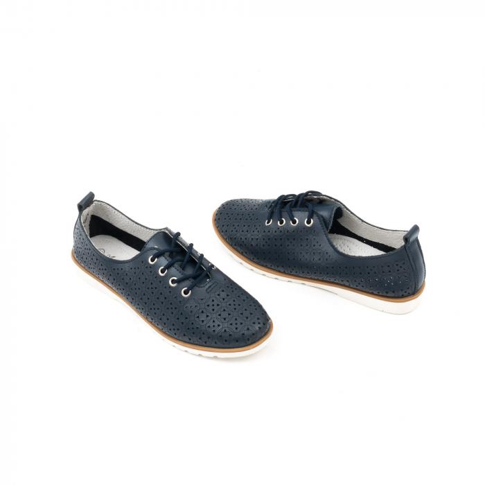 Pantofi casual de vara dama 102 navy 3