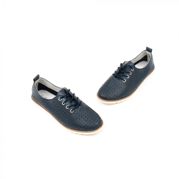Pantofi casual de vara dama 102 navy 1