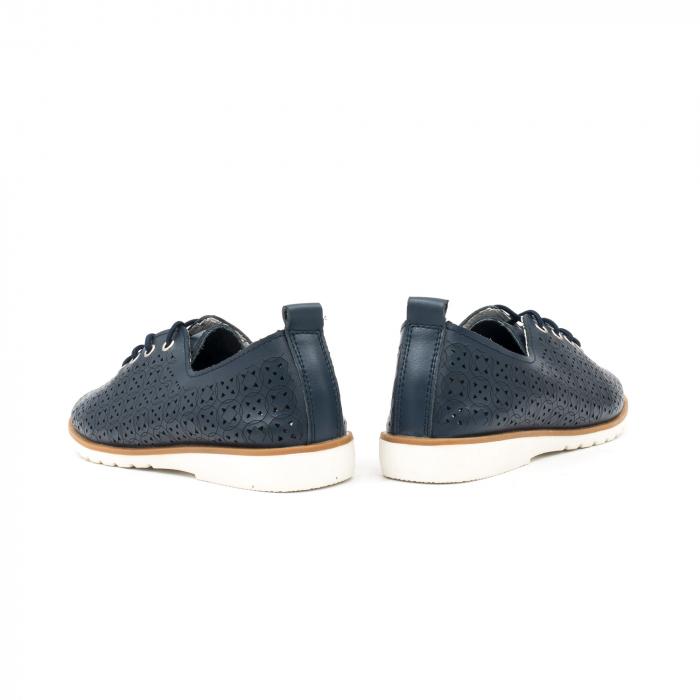 Pantofi casual de vara dama 102 navy 6
