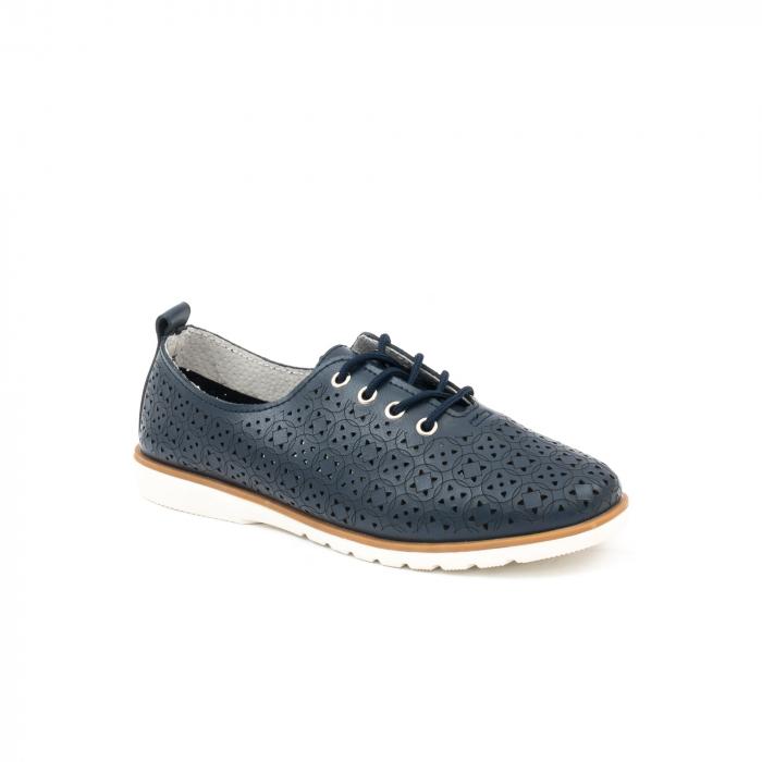 Pantofi casual de vara dama 102 navy 0