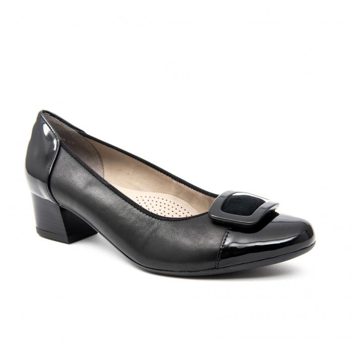 Pantofi dama eleganti piele naturala Ara 3585, Negru 0