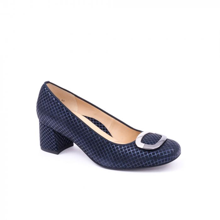 Pantofi eleganti Ara 12-35534 SQUAREKID MIDNIGHT 0