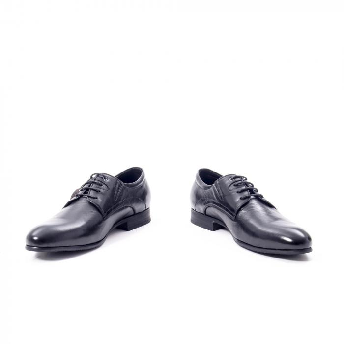 Pantofi eleganti barbat din piele naturala Otter QRA33531 01-N,negru 4
