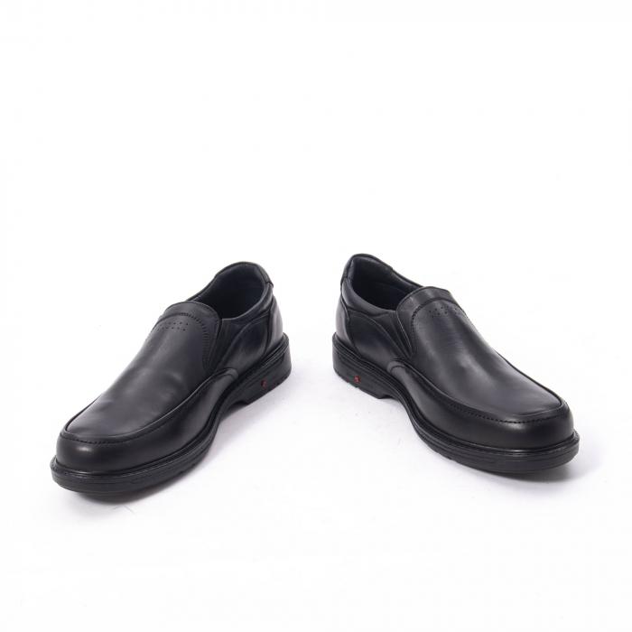 Pantofi eleganti barbati piele naturala, Catali 192561, negru 4
